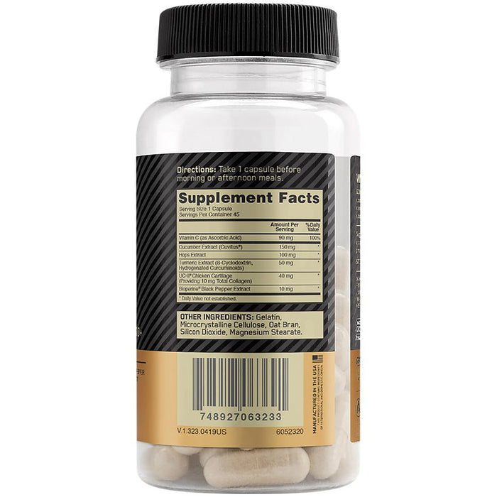 ON Fit 40 Collagen, Vitamin C & Turmeric - Active Joint Health Label