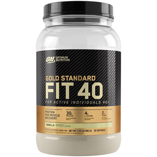 Optimum Nutrition Gold Standard Fit 40 Protein Vanilla - 20 Servings