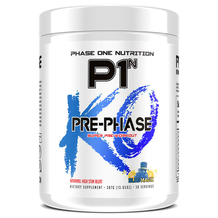 Phase One Nutrition PrePhase - Blue Magic