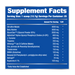 Phase One Nutrition Brain Blitz Nootropic Pre-Workout - Supplement Facts