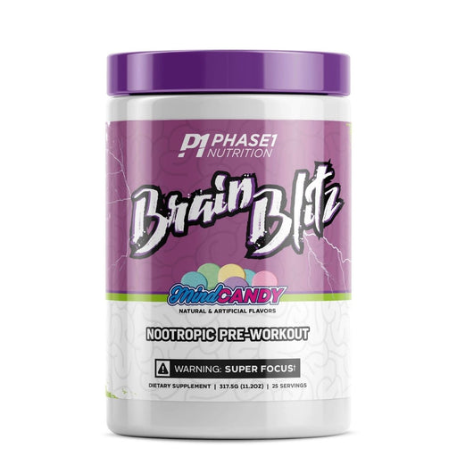 Phase 1 Nutrition Brain Blitz Nootropic Pre-Workout - Mind Candy