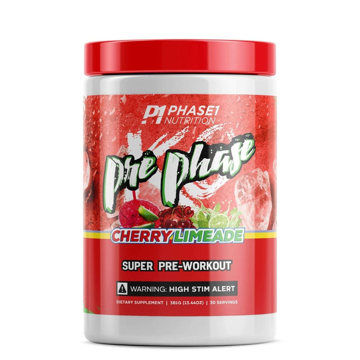 Phase One Nutrition PrePhase - Cherry Limeade Pre Workout