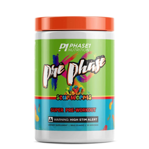 Phase One Nutrition Pre Phase - Sour Worms Pre Workout
