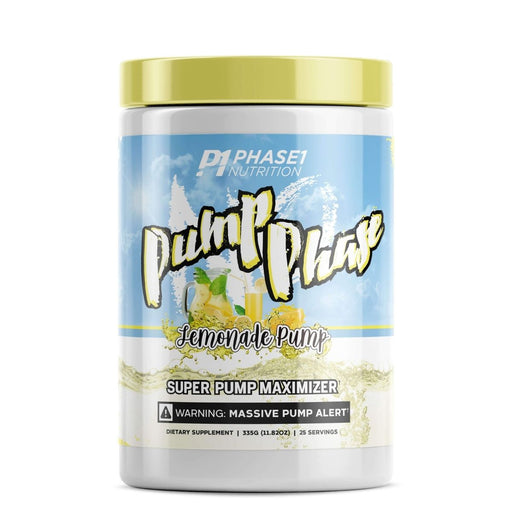Phase One Nutrition Pump Phase Pre Workout - Lemonade Pump
