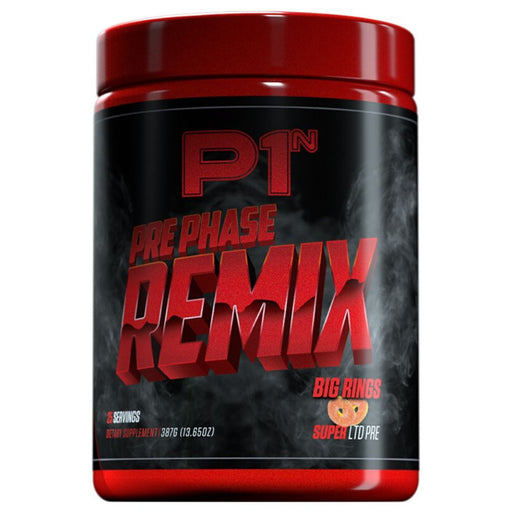 Phase One Nutrition PrePhase Remix Pre Workout - 25 Servings Big Rings