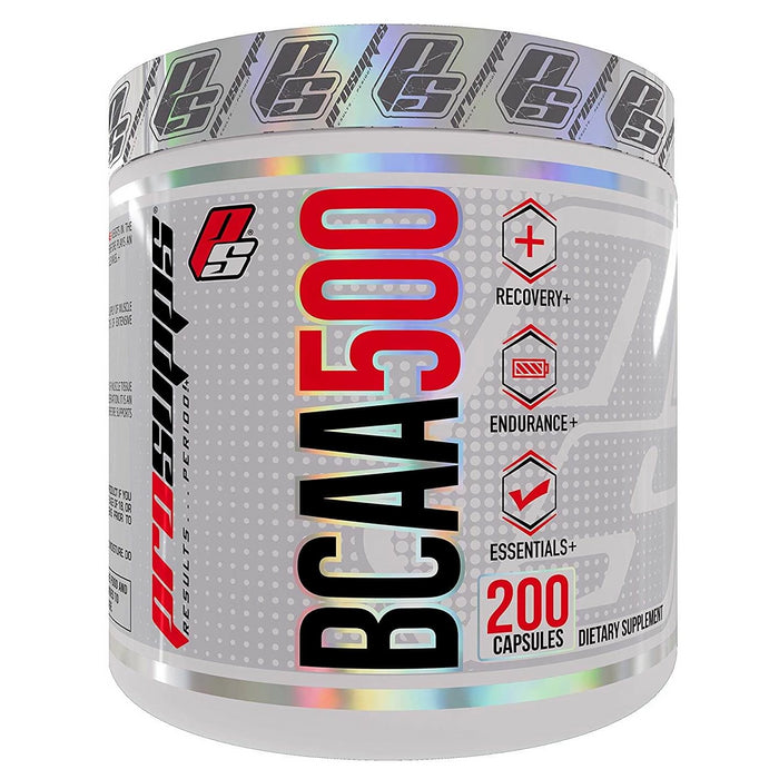 Pro Supps BCAA 500 Branch Chain Amino Acid Capsules