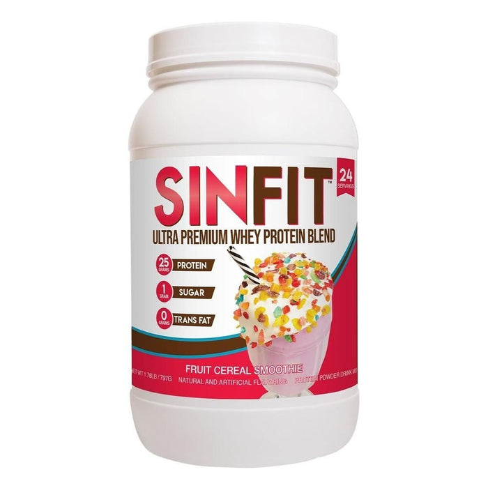 SinFit Premium Whey Protein - Fruity Cereal Smoothie