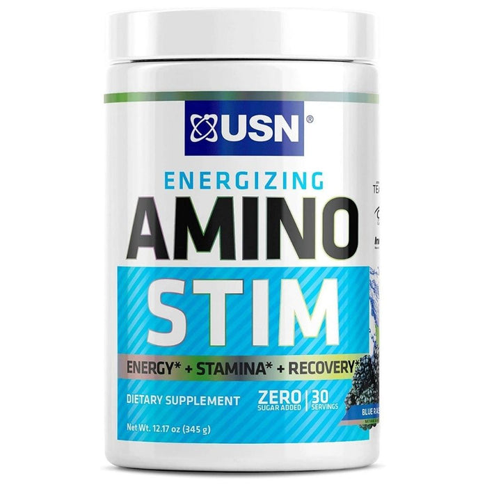 USN Amino Stim - Blue Raspberry 30 Servings