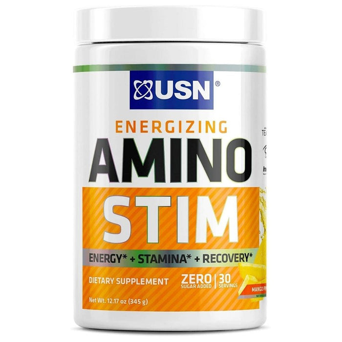 USN Amino Stim - Mango Pineapple 30 Servings