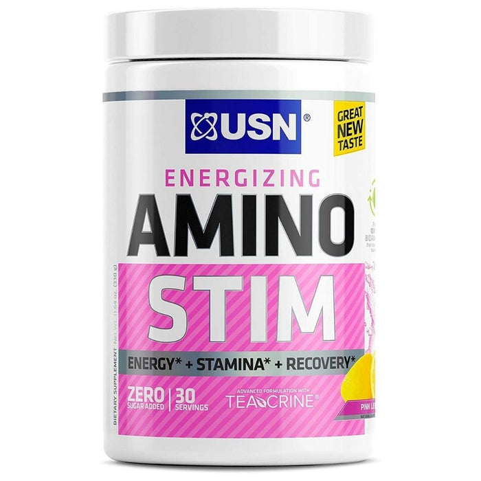 USN Amino Stim - Pink Lemonade 30 Servings