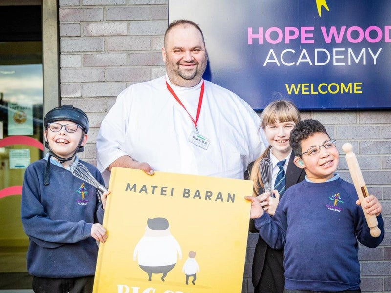 Pupils to feature in new cook book by MasterChef contestant