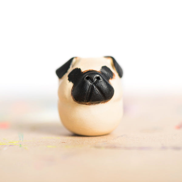 Le Pug Fat-Fat Totem, Fawn - MADE TO ORDER