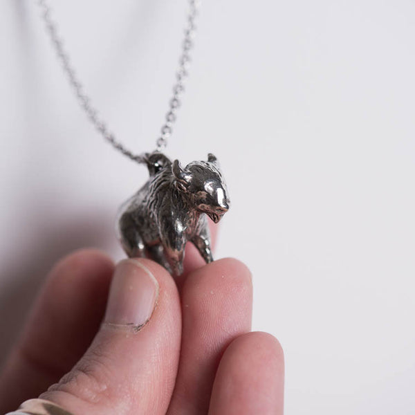 Le Grateful Bison Necklace