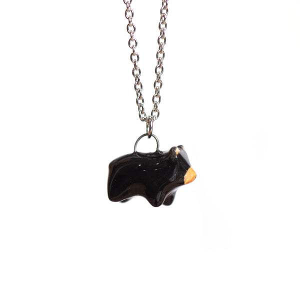 Le Practical Bear Necklace