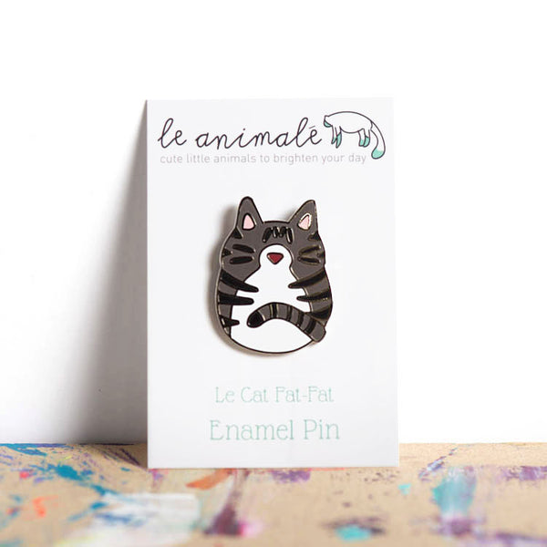 Le Cat Fat-Fat Pin