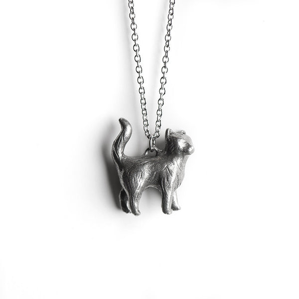 Le Independent Cat Totem Necklace