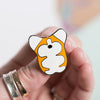 Le Corgi Fat-Fat Pin