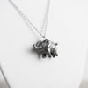 Le Sprightly Elephant Necklace