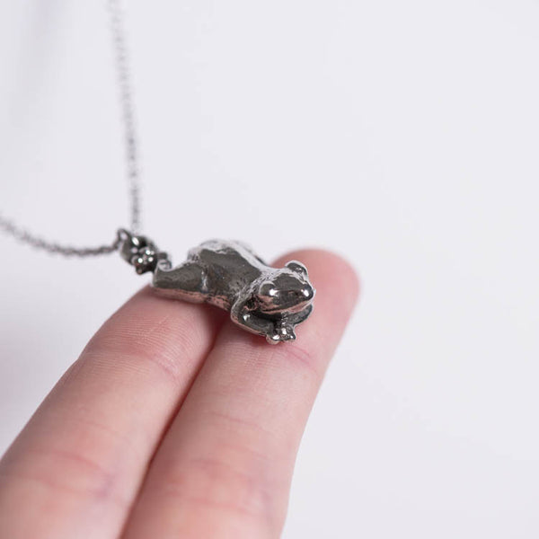 Le Healing Frog Necklace