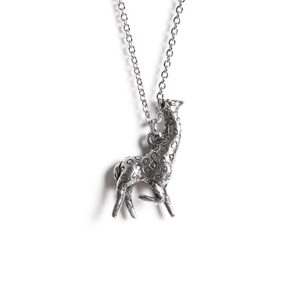 Le Graceful Giraffe Totem Necklace