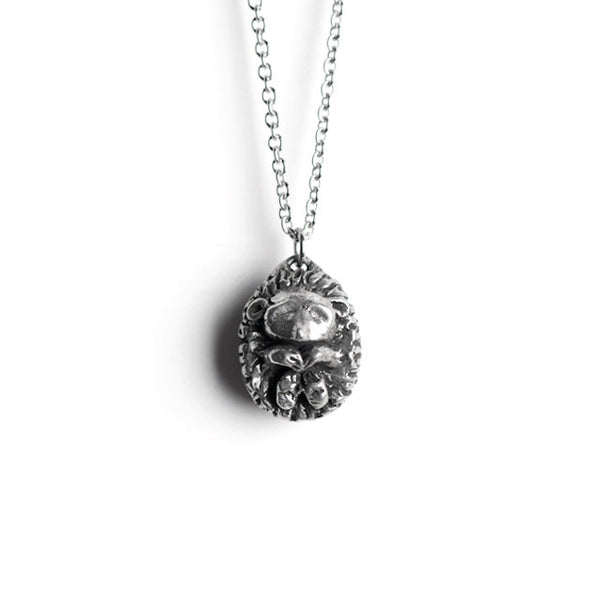 Le Grounded Hedgehog Necklace