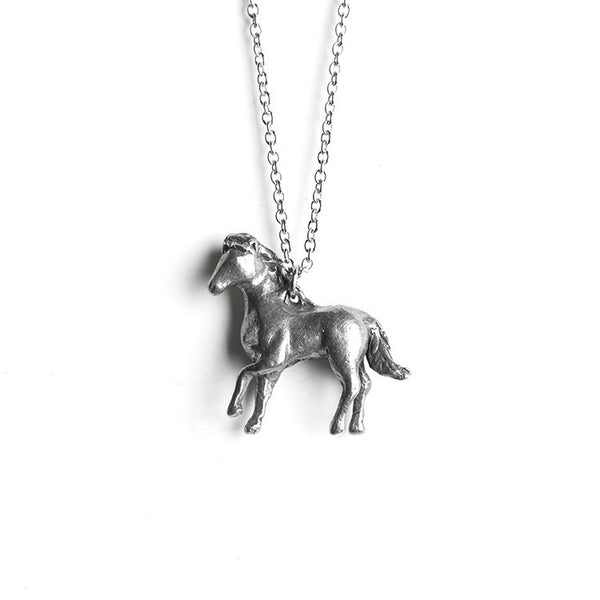 Le Powerful Horse Totem Necklace