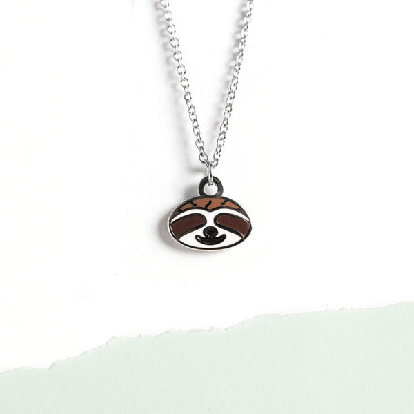 Le Sloth Petite Necklace
