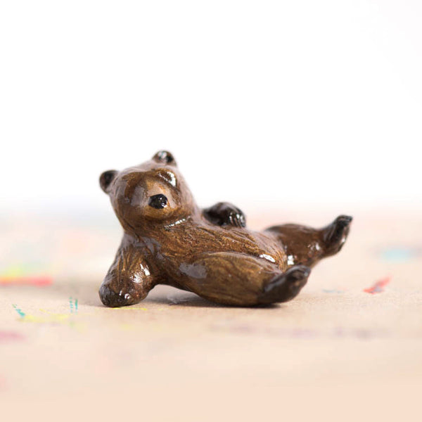 Le Tumblin' Bear Figurine - Brown Bear Limited Edition
