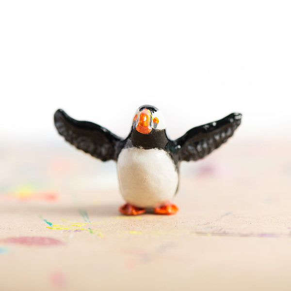 Le Puffed Puffin Totem - Muses Collection