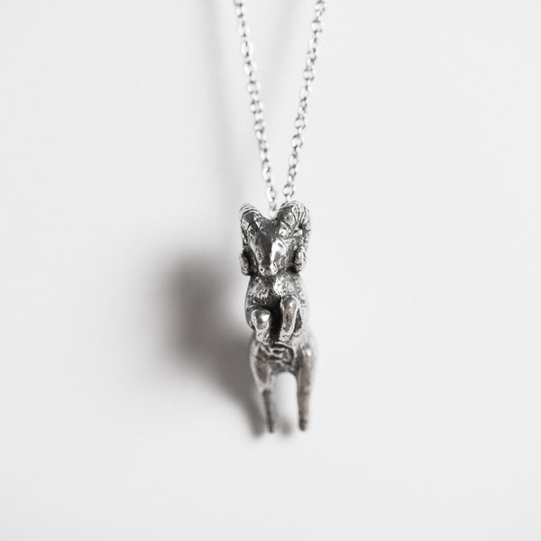 Le Pioneering Ram Necklace