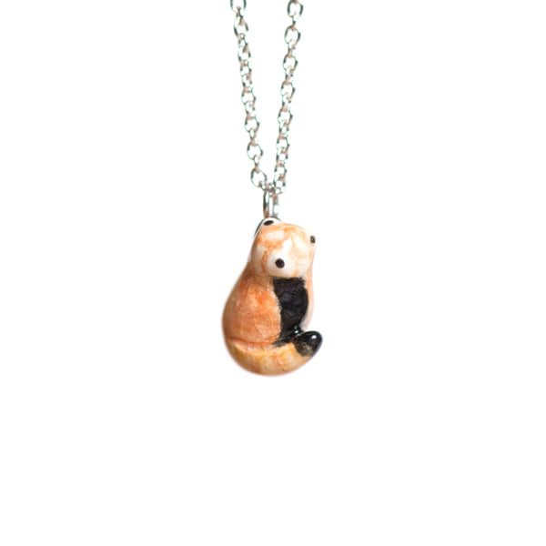Le Content Red Panda Necklace