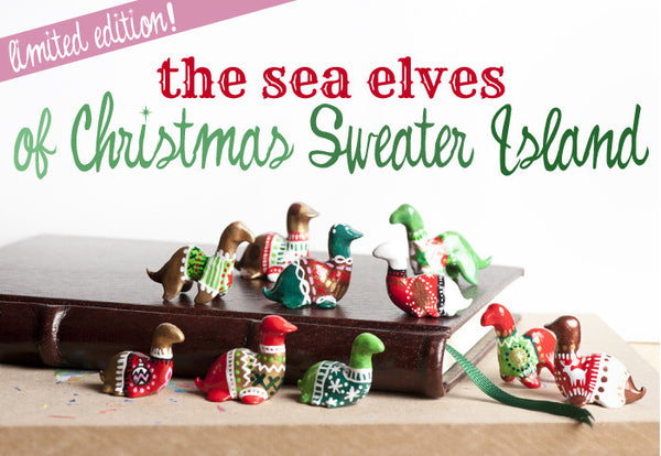 Sea Elves of Christmas Sweater Island - Sven