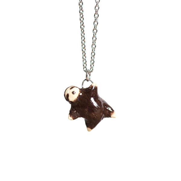 Le Mellow Sloth Necklace