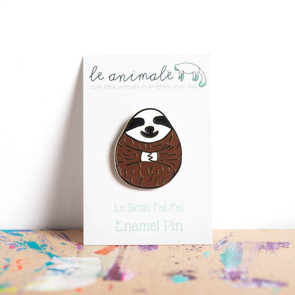 Le Sloth Fat-Fat Pin