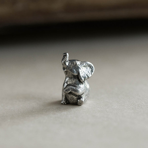 Le Encouraging Elephant Figurine