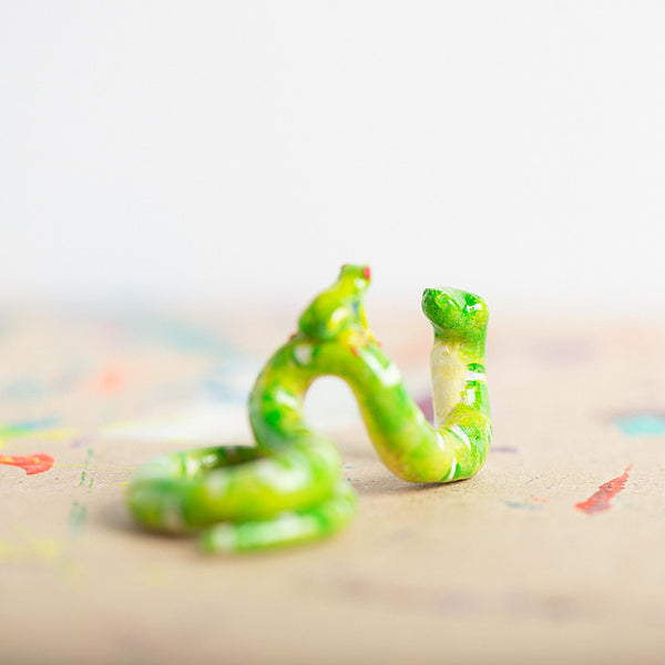 Le BFF Snake & Frog Totem - Muses Collection