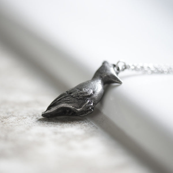 Le Empathetic Woodpecker Necklace