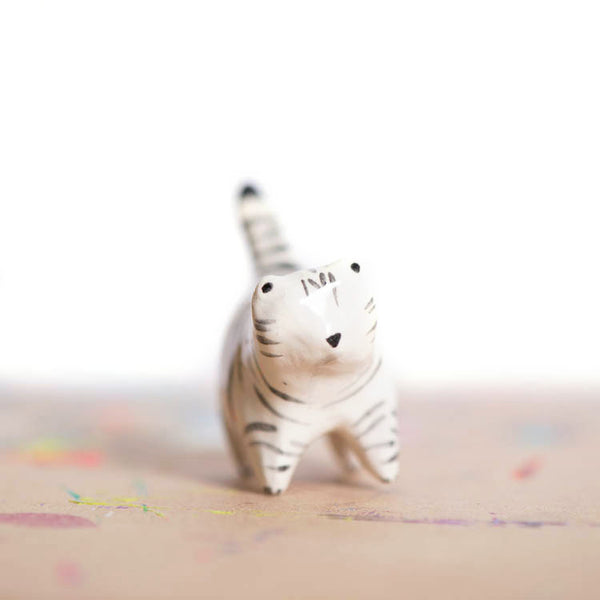Le Winter Wonderland Fat Cat Figurine