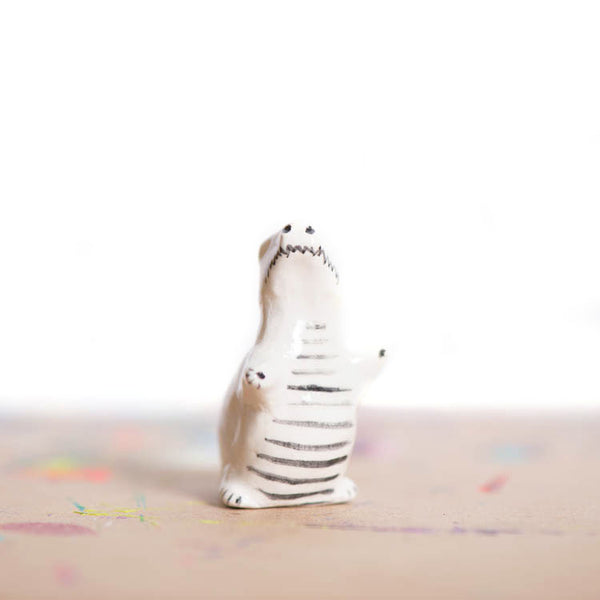 Le Winter Wonderland T-Rex Figurine