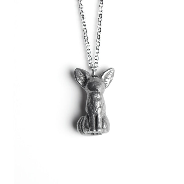 Le Playful Fennec Fox Necklace
