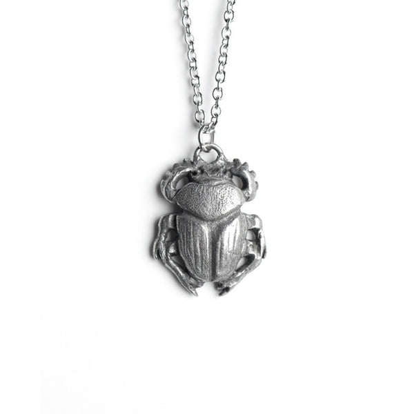 Le Sacred Scarab Necklace
