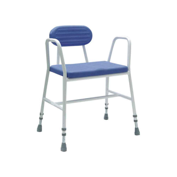 Wide PU Shower Stool