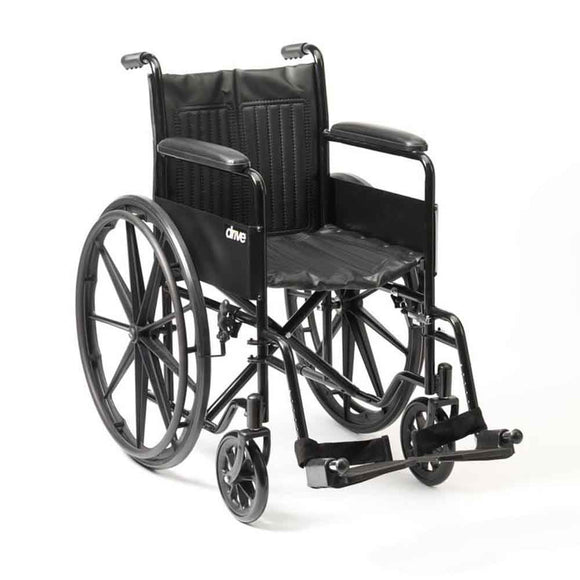Self Propelled Wheelchair - Puncture-Proof Tyres