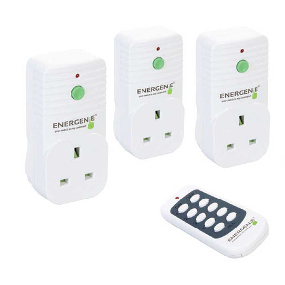Remote Controlled Sockets Pack Of 3