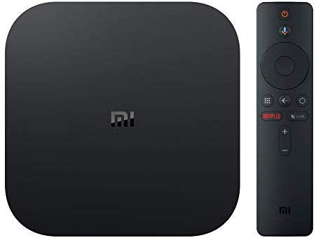Mi Box S Xiaomi Original - 4K Ultra HD Android TV with Google Voice Assistant & Direct Netflix Remote Streaming Media Player US Plug: Electronics
