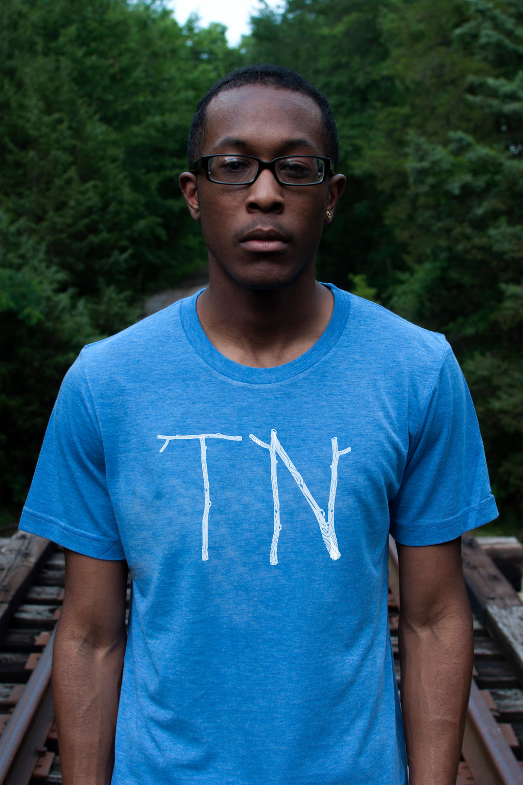 TN Sticks Short Sleeve Crew Cut Tee