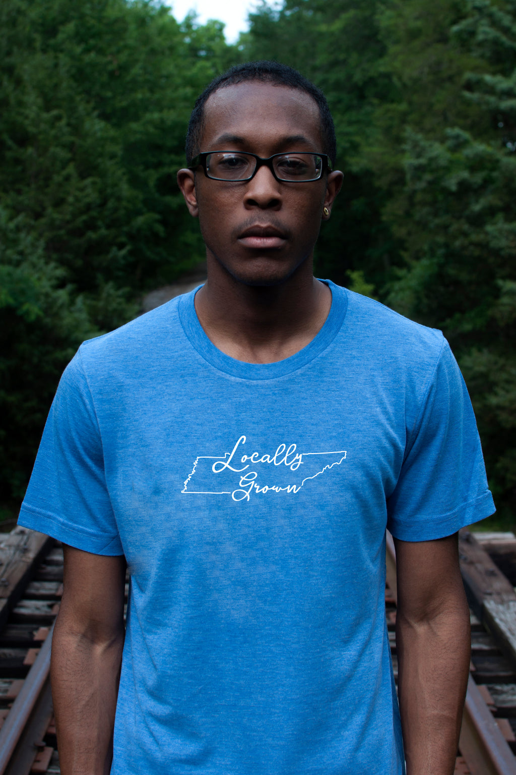 Locally Grown Short Sleeve Crew Cut Tee