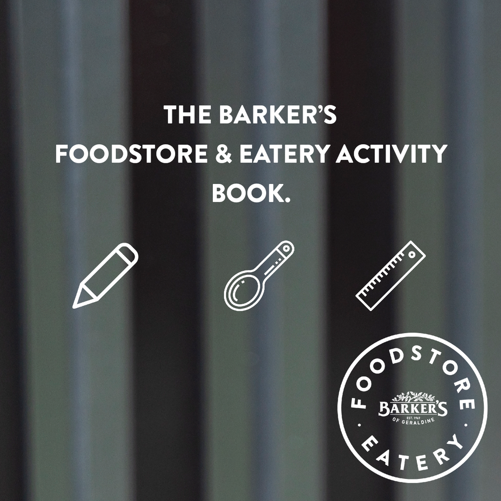 Barker's Foodstore & Eatery Family Activity Book