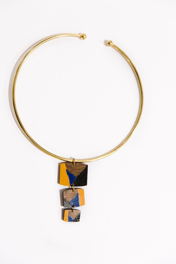 Frida Gold Bar Necklace