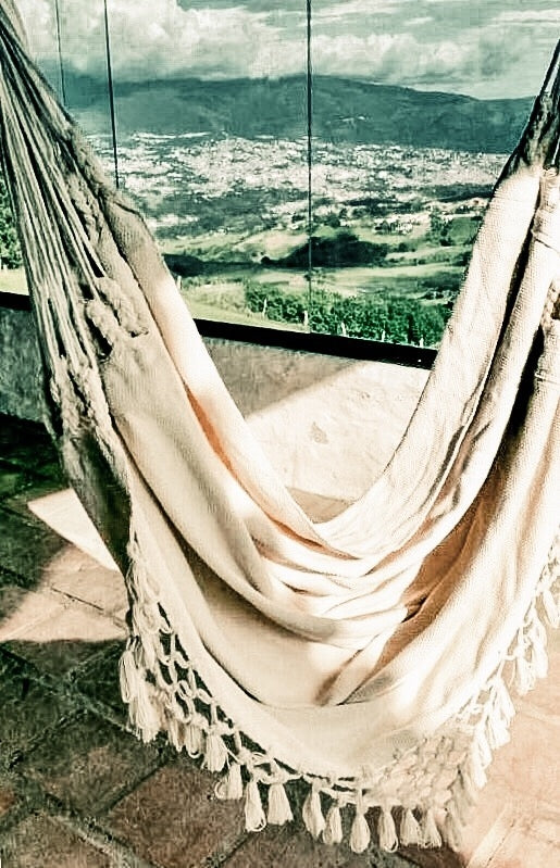 Juliana Hanging Hammock Tassels Chair
